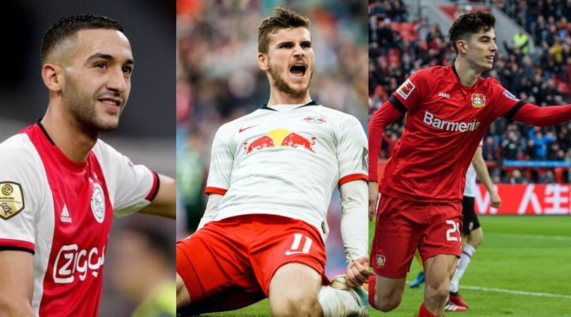 6 ways Chelsea can line up with Kai Havertz, Timo Werner and Hakim Ziyech
