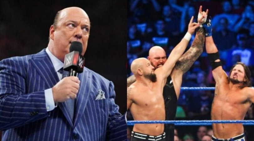AJ Styles moved to SmackDown due to issues with Paul Heyman