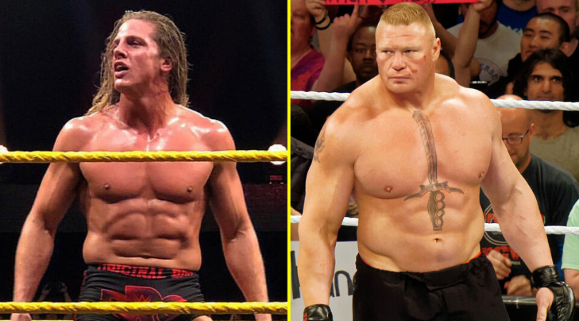Brock Lesnar told Matt Riddle they would never work together