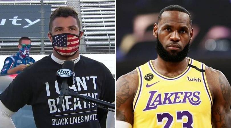 LeBron James releases statement regarding 'Bubba Wallace noose'