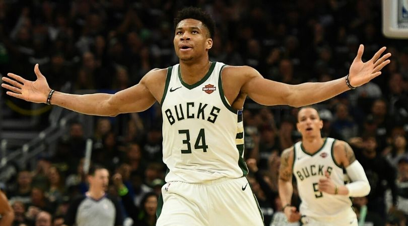 Bucks starting lineup 2020