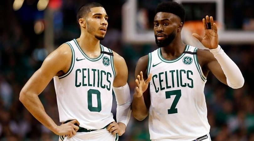 Celtics starting lineup 2020