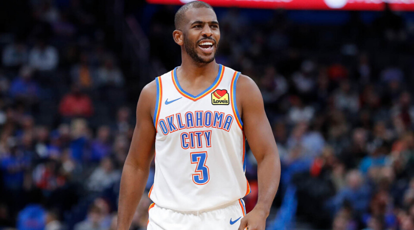 How Chris Paul reacted to Kyrie Irving's statement