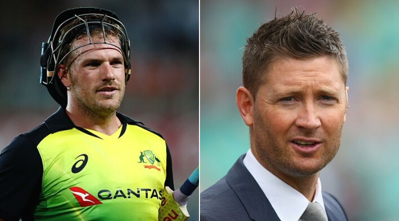 Aaron Finch responds to Michael Clarke's comment on Australian players 'sucking up' vs India for IPL contracts