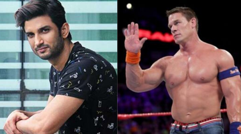 John Cena pays tribute to late Indian actor Sushant Singh Rajput