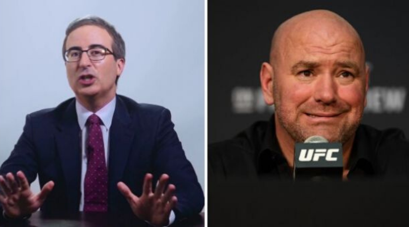 John Oliver tears into Dana White for trademarking 'UFSea'