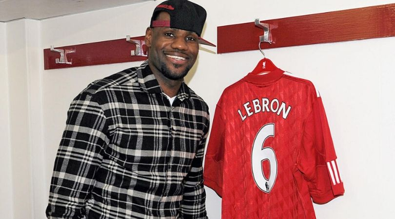 LeBron James part owner of Liverpool