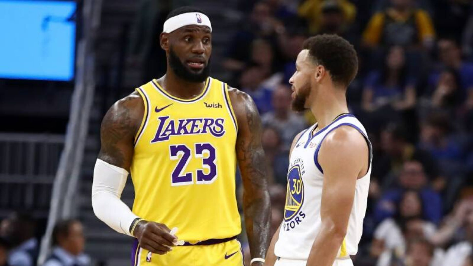 LeBron James: Lakers stars answers if 'Steph Curry is great'