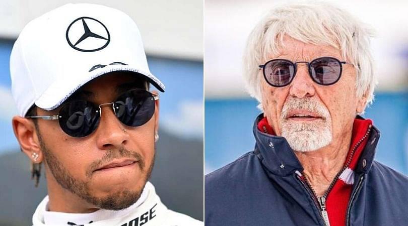 Bernie Ecclestone responds to Lewis Hamilton's Instagram post