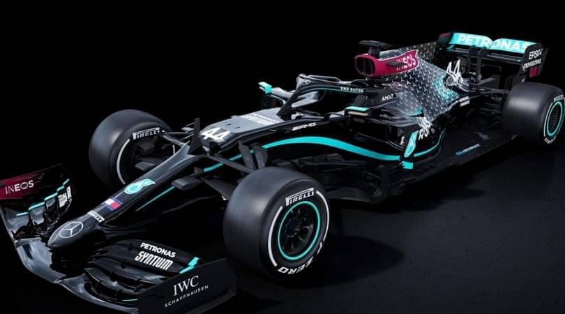 Mercedes f1 new livery