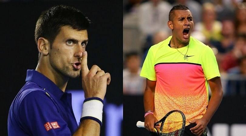 Nick Kyrgios calls out Novak Djokovic for Adria Tour