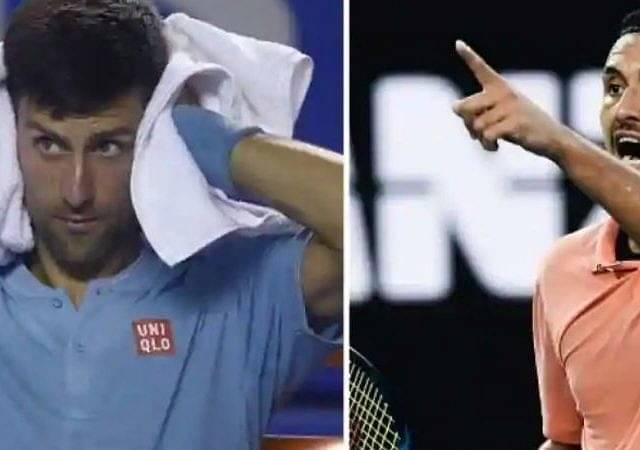 Nick Kyrgios mocks Novak Djokovic after he tests positive for coronavirus