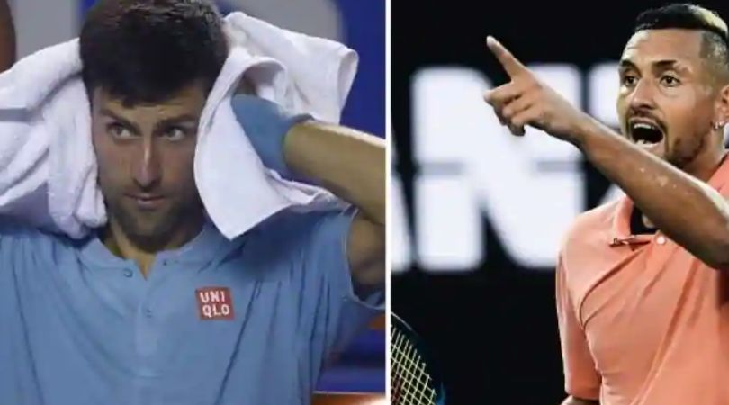 Nick Kyrgios mocks Novak Djokovic after he tests positive for coronavirus