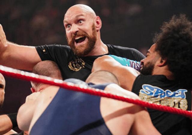 Tyson Fury back in the WWE?