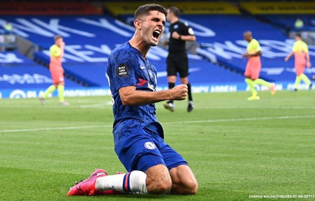 Christian Pulisic goal Vs Manchester City: Chelsea star's goal brings Liverpool to lift Premier League title earlier