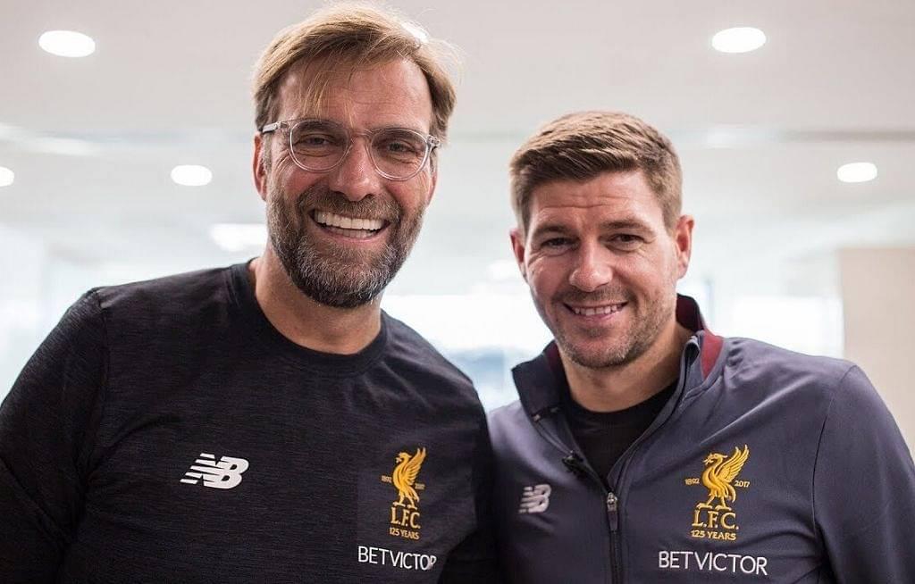Jurgen Klopp answers special request made by Liverpool legend Steven Gerrard