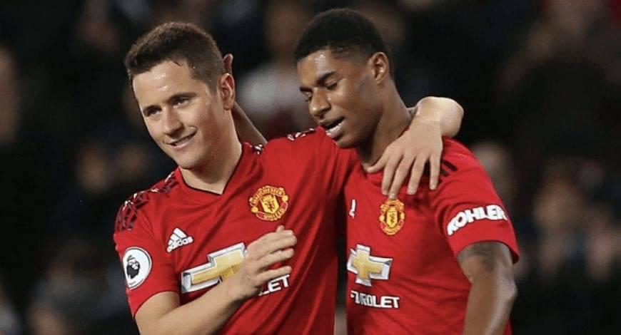 Ander Herrera replies to Marcus Rashford's plea to join Manchester United again