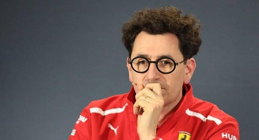 Ferrari F1 News : Team Principal Mattia Binotto speaks out on the troubles Ferrari Car is facing this season