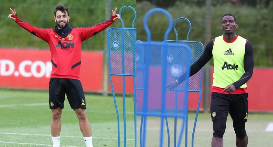 How will Manchester United lineup with Bruno Fernandes and Paul Pogba