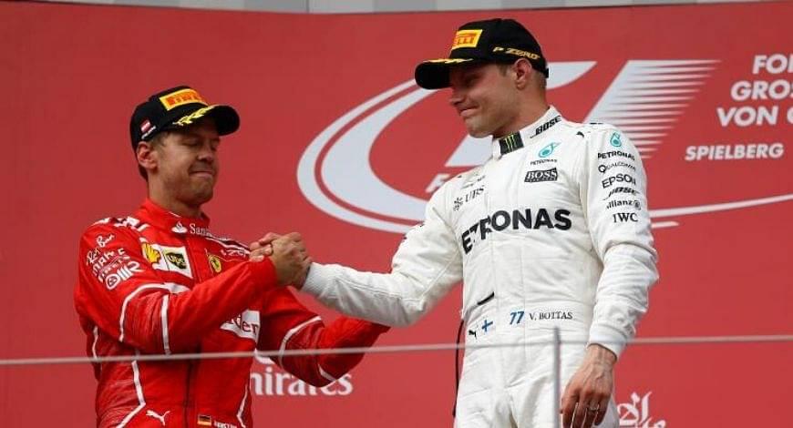 Sebastian Vettel to Mercedes: Valtteri Bottas confirms whether former Ferrari driver will replace him