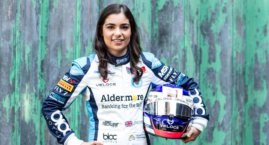 Jamie Chadwick F1: Female racer hopeful of securing a berth in Formula One by 2023