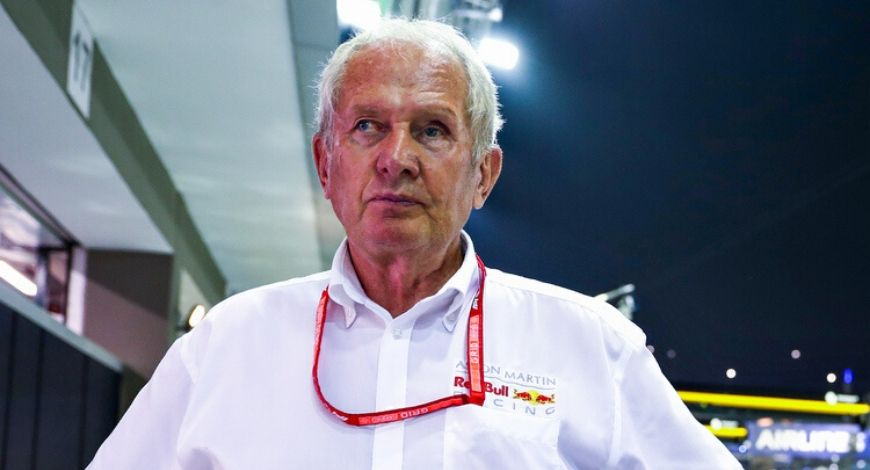Lewis Hamilton Instagram post for Helmut Marko; British racer falls for fake quote