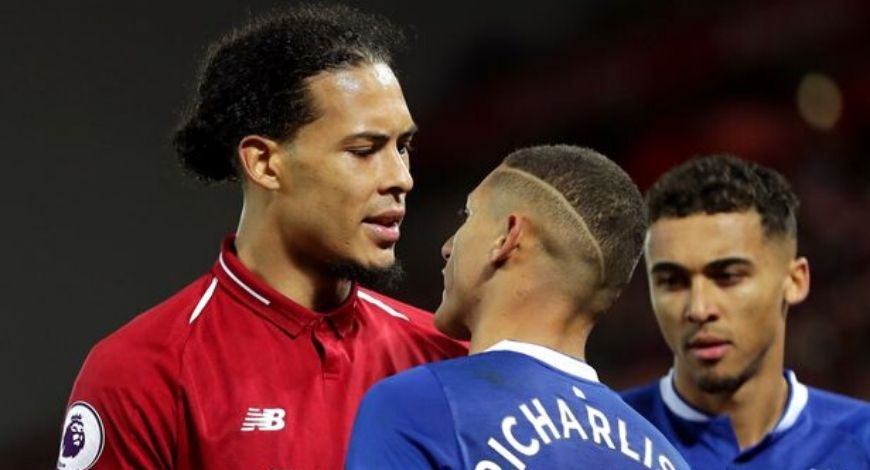 Richarlison says Marquinos and Ramos are better than his Liverpool rival Virgil Van Dijk