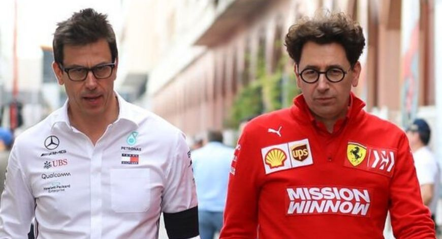 """""""Mercedes always have an opinion"""" – Ferrari Boss not pleased with Toto Wolff's comments on Vettel"""