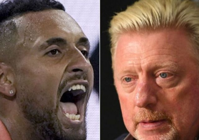 Boris Becker and Nick Kyrgios engage in a war of words over the Adria Tour coronavirus fiasco