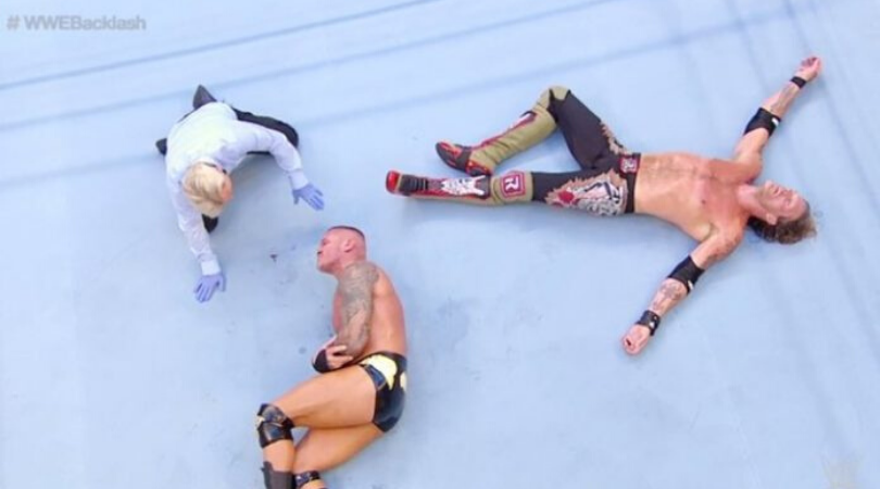 WWE Backlash 2020 results Edge vs Randy Orton lives up to its hype