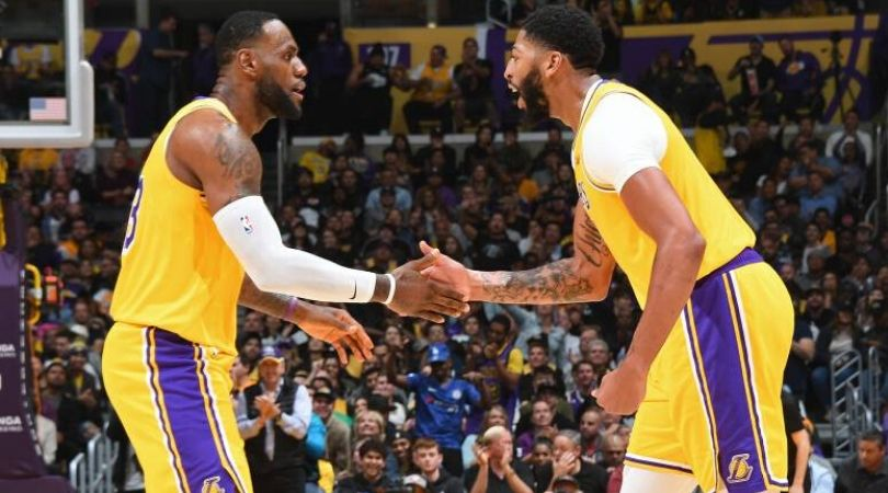 LeBron James and the Lakers