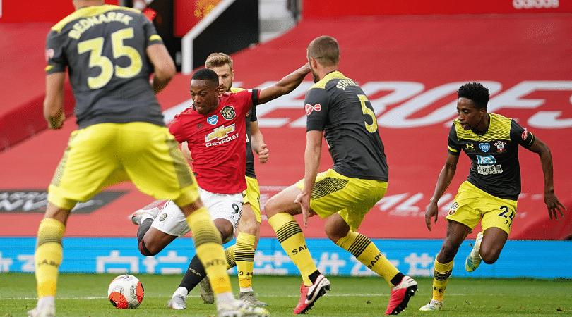 Anthony Martial Goal vs Southampton