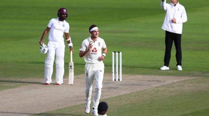 Stuart Broad 500th Test wicket: Watch English seamer dismisses Kraigg Brathwaite to enter elite club