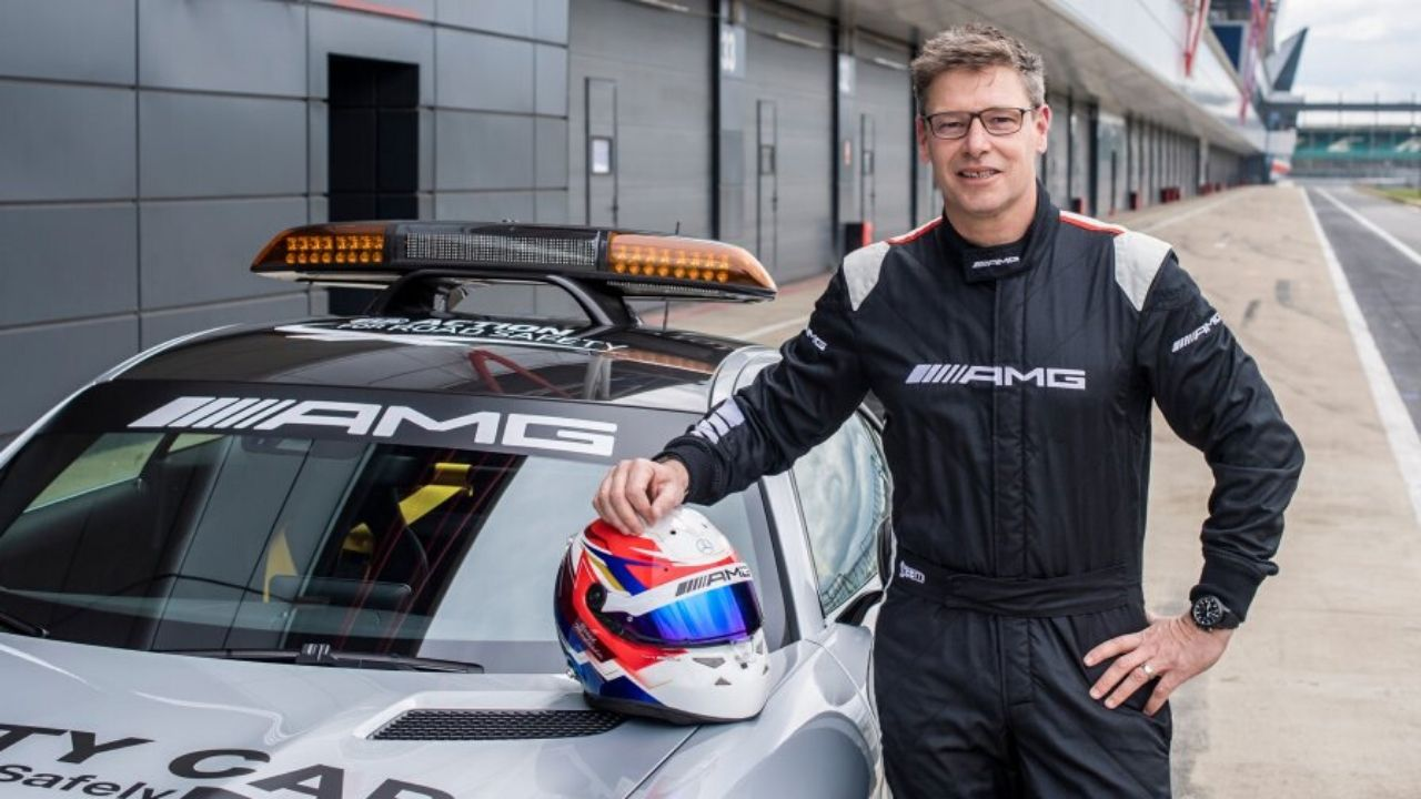 Bernd Maylander F1 Safety Car driver