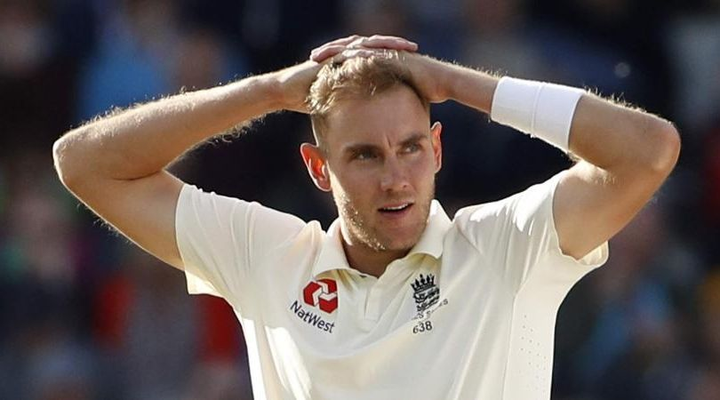 Why is Stuart Broad not playing today's first Test between England and West Indies at The Ageas Bowl?
