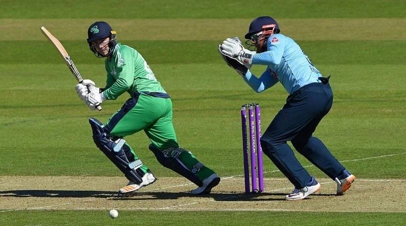 Curtis Campher debut: Campher becomes third Irish batsman to score half-century on ODI debut