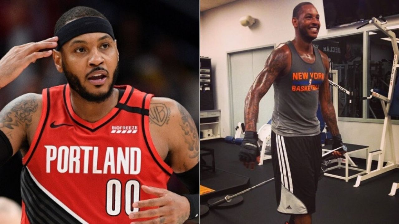Carmelo Anthony weight loss