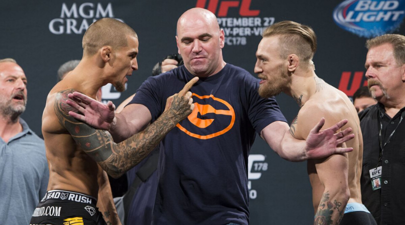 Conor McGregor responds to Dustin Poirier's remarks about their fight