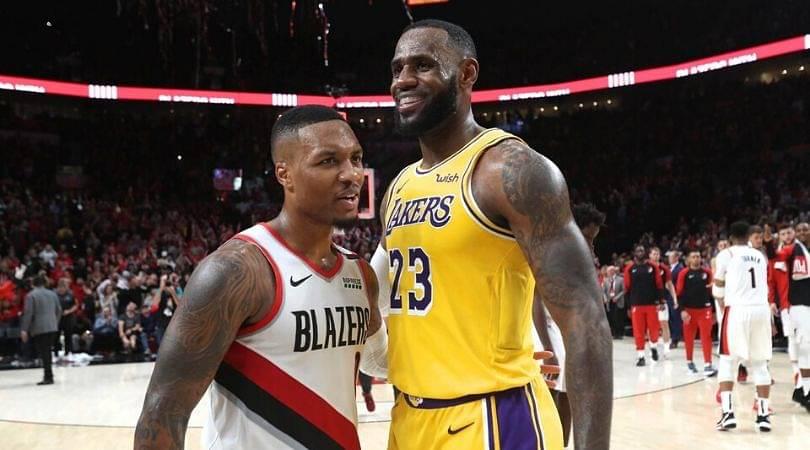 Damian Lillard to Lakers
