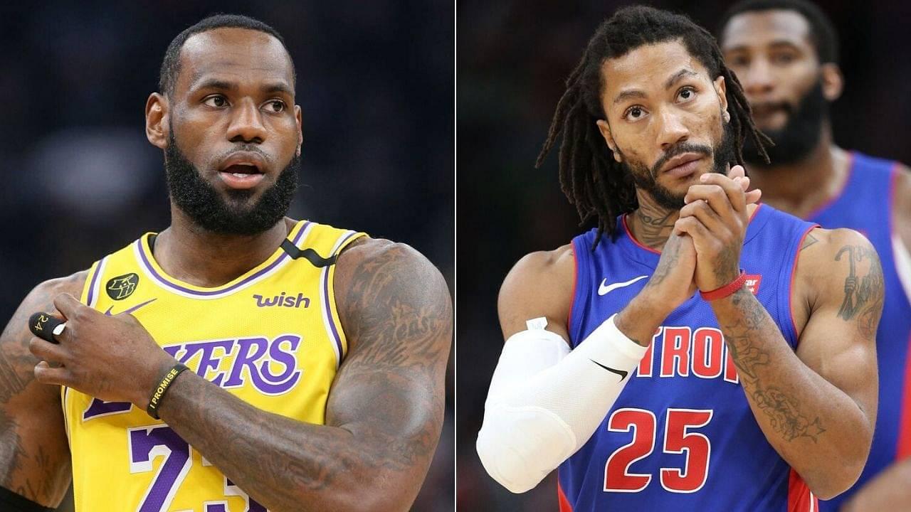 Derrick Rose to Lakers