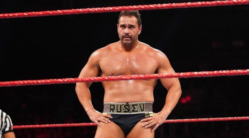 Former WWE Superstar Rusev confirms he has Coronavirus