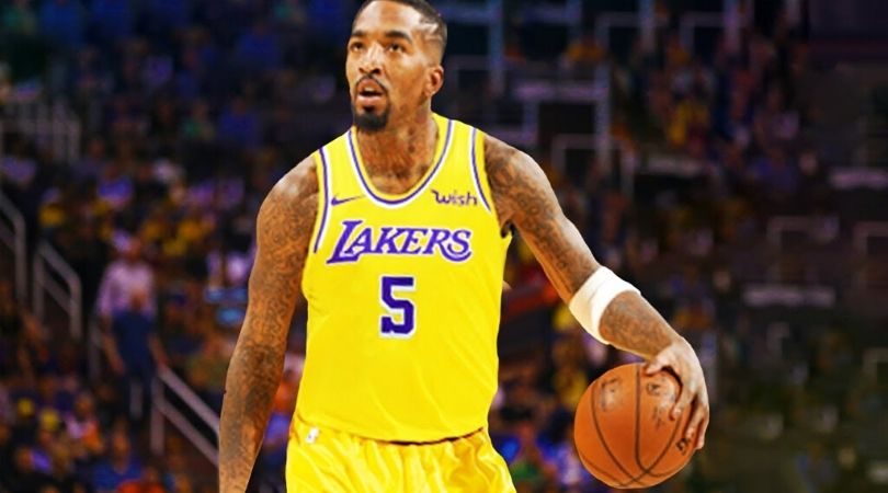 JR Smith Lakers Jersey Number