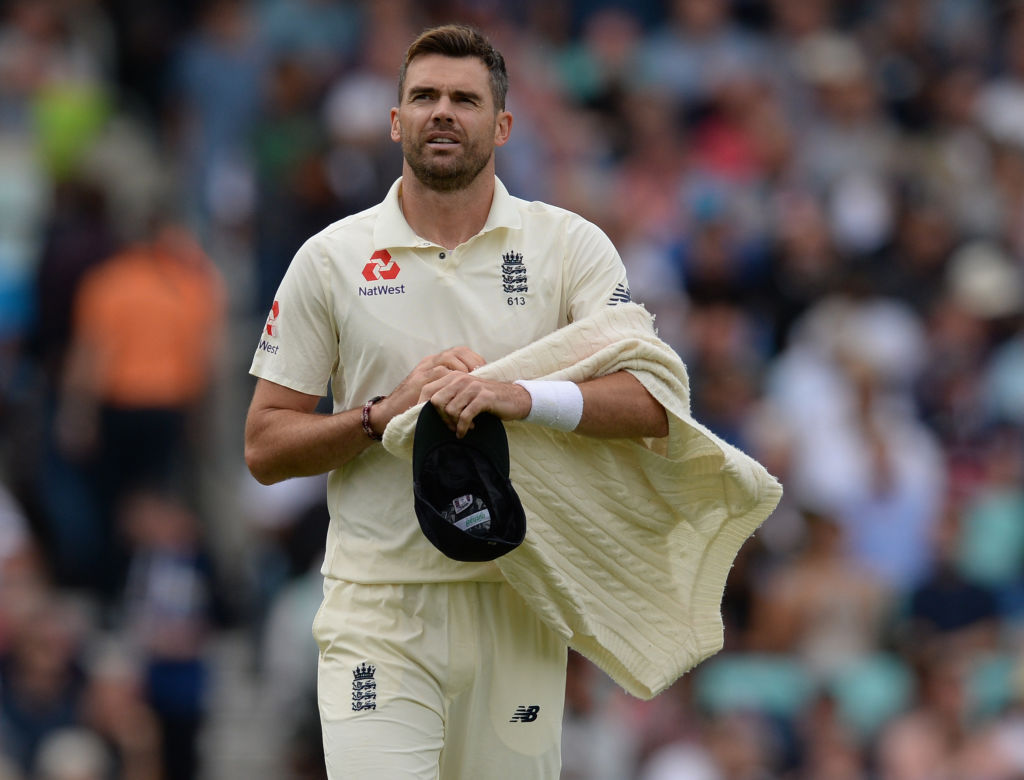 James Anderson hopes to play four out of six Tests this summer