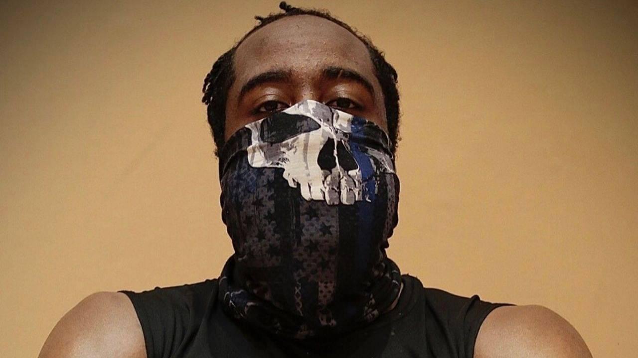 James Harden mask