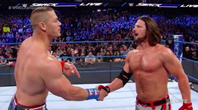 John Cena did not want AJ Styles to join the WWE