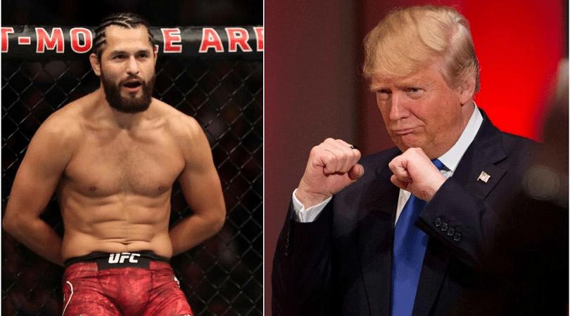 Jorge Masvidal explains why he supports Donald Trump | The SportsRush