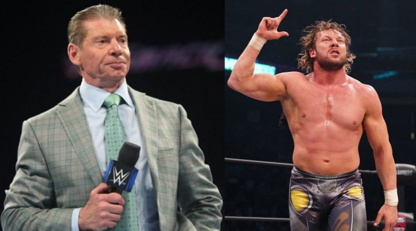 Kenny Omega takes a shot at Vince McMahon and WWE