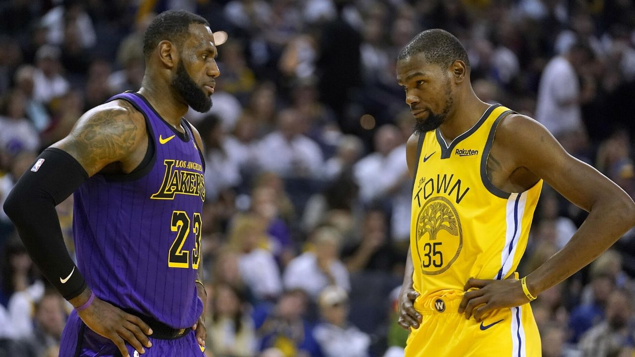 LeBron James and Kevin Durant subjected to racism