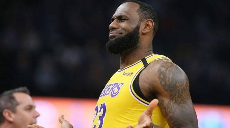 LeBron James finals record