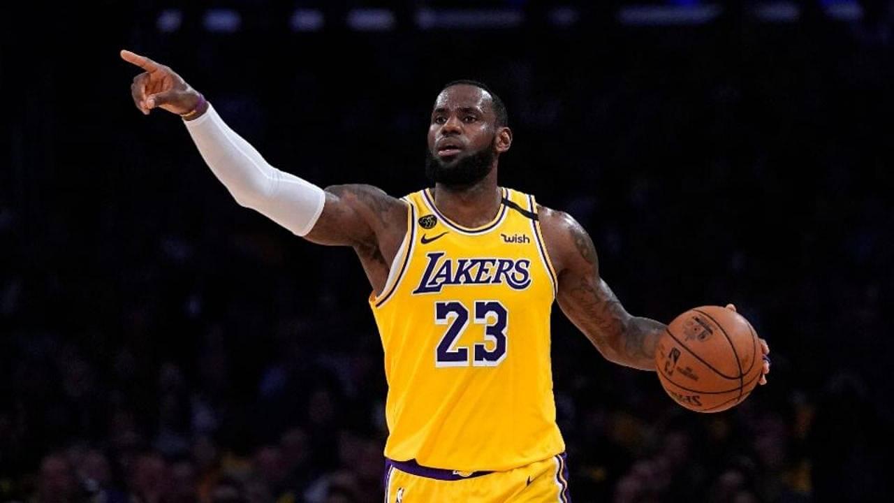 Is LeBron James left handed